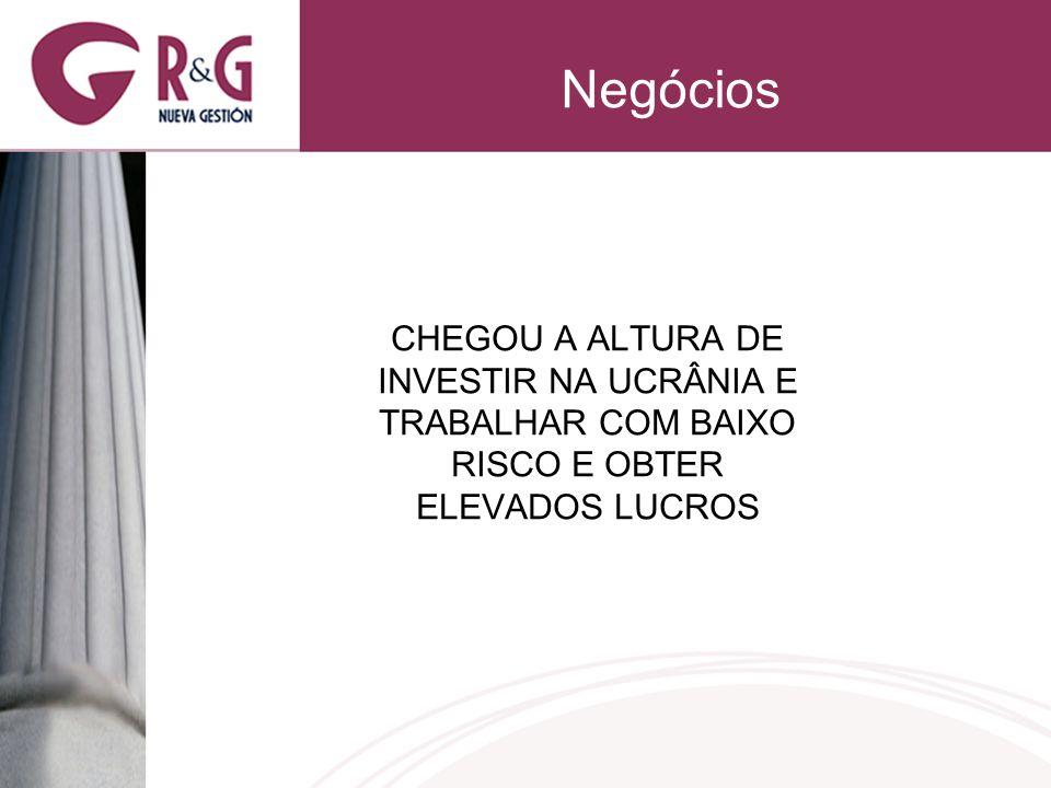 Negócios CHEGOU A ALTURA DE INVESTIR NA UCRÂNIA E TRABALHAR COM BAIXO RISCO E OBTER ELEVADOS LUCROS