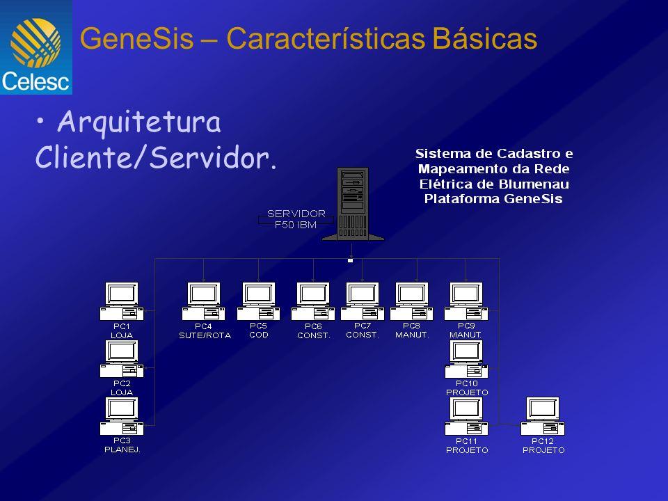 Arquitetura Cliente/Servidor. GeneSis – Características Básicas