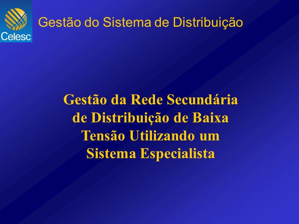 Gestão da Rede Secundária de Distribuição de Baixa Tensão Utilizando um Sistema Especialista