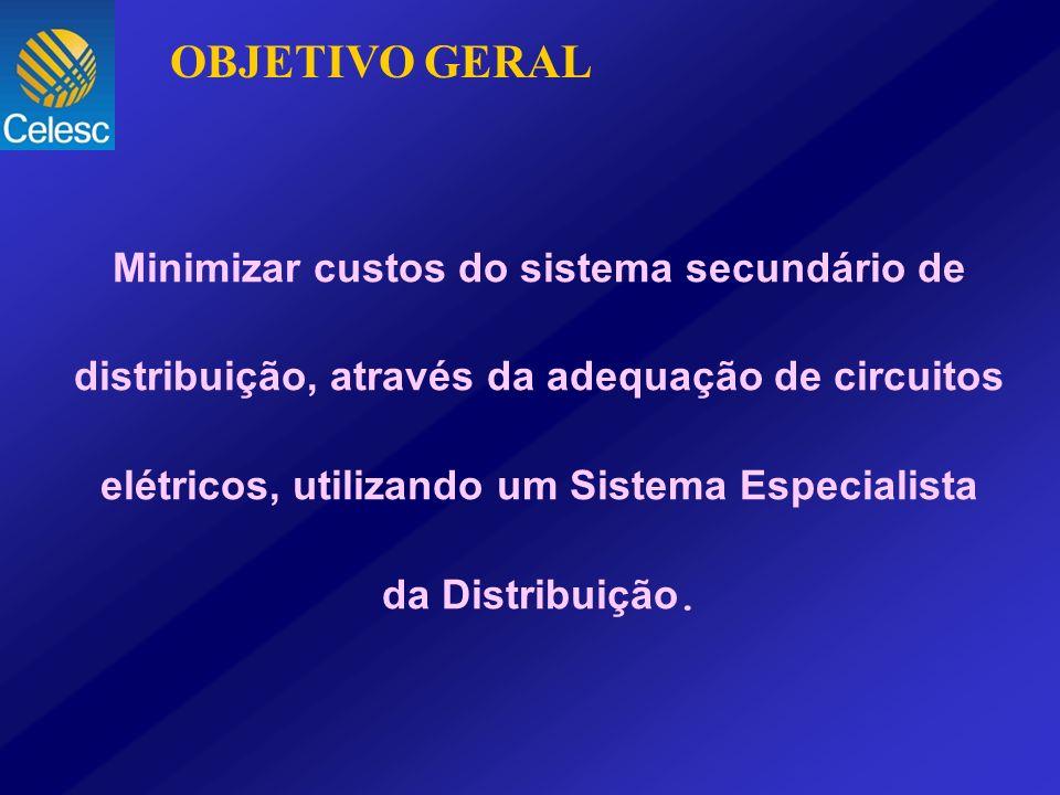 Minimizar custos do sistema secundário de distribuição, através da adequação de circuitos elétricos, utilizando um Sistema Especialista da Distribuiçã