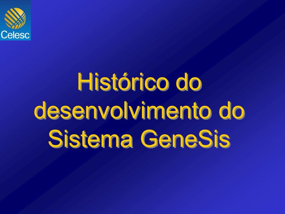 Histórico do desenvolvimento do Sistema GeneSis