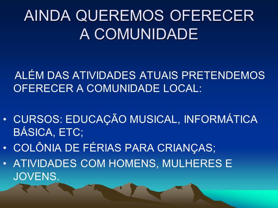 FOTO CAFÉ MATINAL FOTO DO TRADICIONAL CAFÉ DA MANHÃ REALIZADO NO 2º DOMINGO DE CADA MÊS.