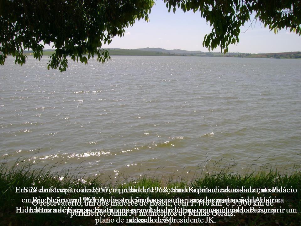 A água represada no sul de Minas contribui para a geração de energia em todas as usinas que estão instaladas abaixo do Rio Grande e nos rios Paranaíba