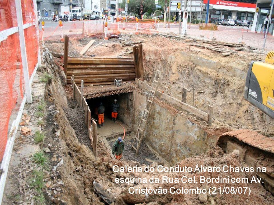 Galeria do Conduto Álvaro Chaves na esquina da Rua Cel. Bordini com Av. Cristóvão Colombo (21/08/07)