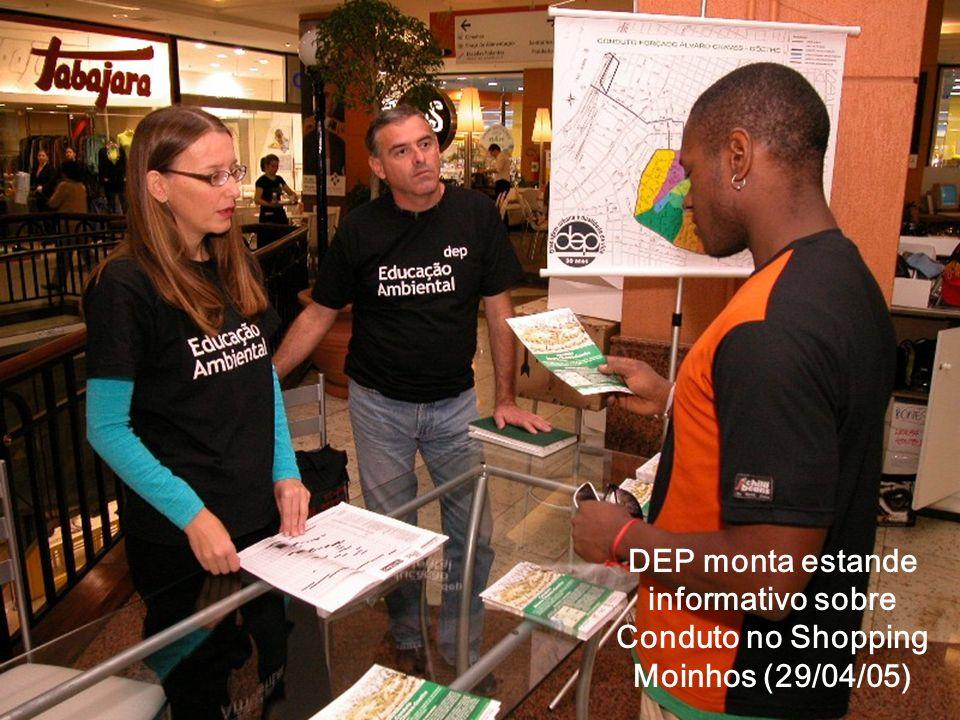 Início da Obra do Conduto na Rua Álvaro Chaves com Farrapos (02/05/05)