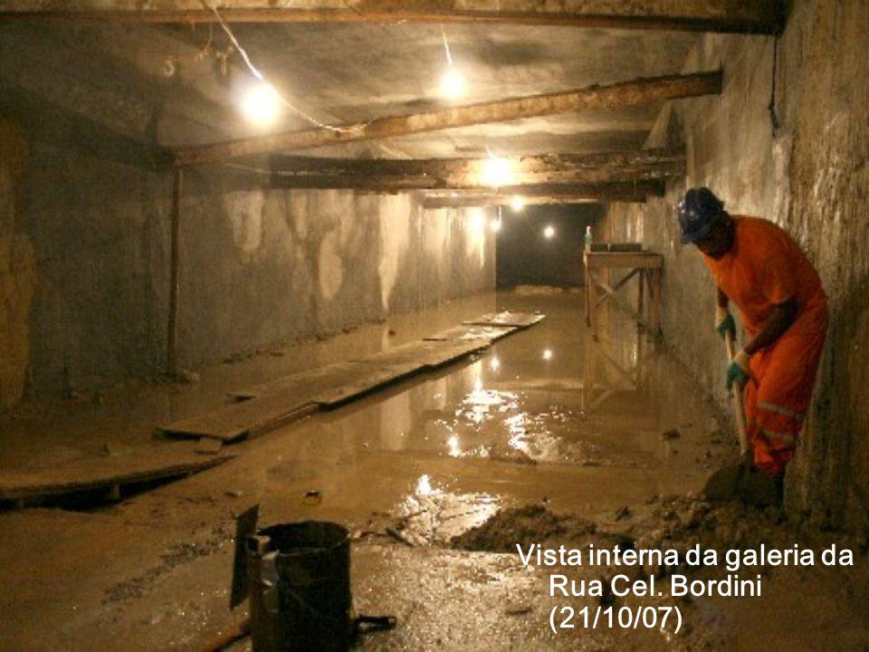 Vista interna da galeria da Rua Cel. Bordini (21/10/07)