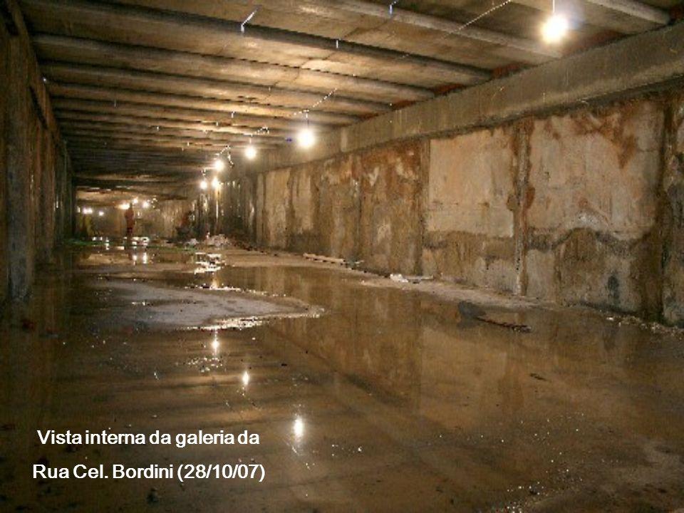 Vista interna da galeria da Rua Cel. Bordini (28/10/07)
