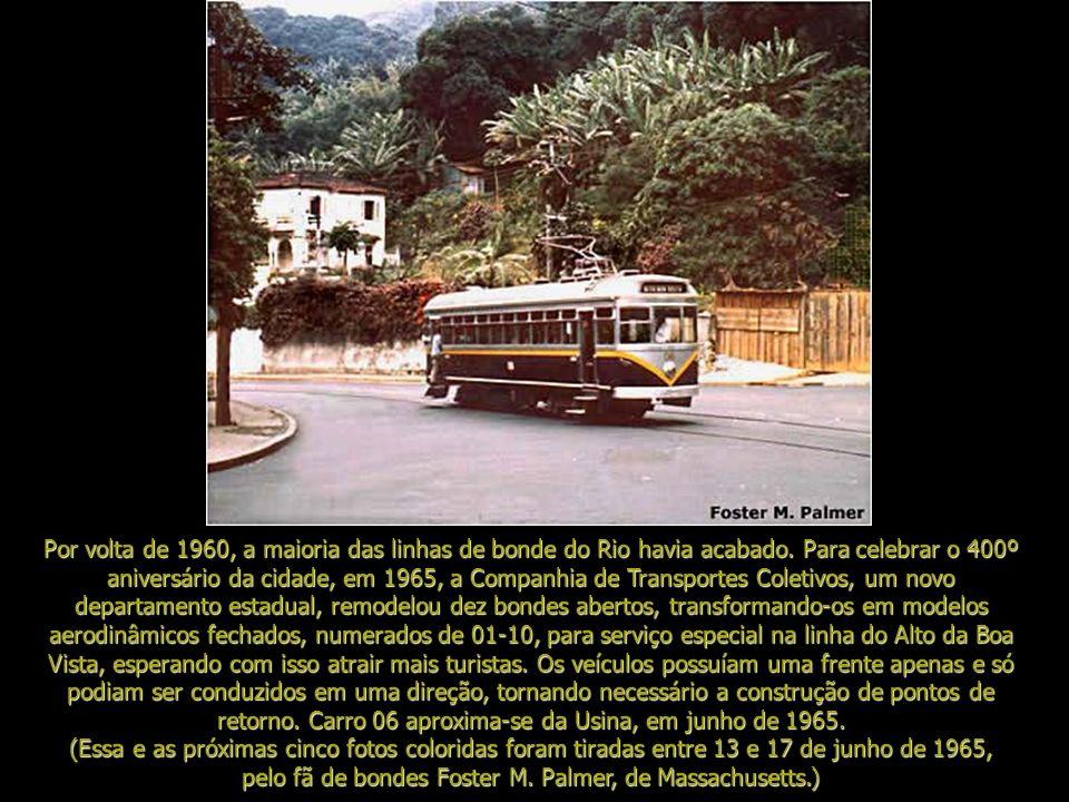 Subir a montanha de bonde aberto para o clima mais ameno do Alto da Boa Vista foi um dos passatempos prediletos dos cariocas e turistas que visitaram