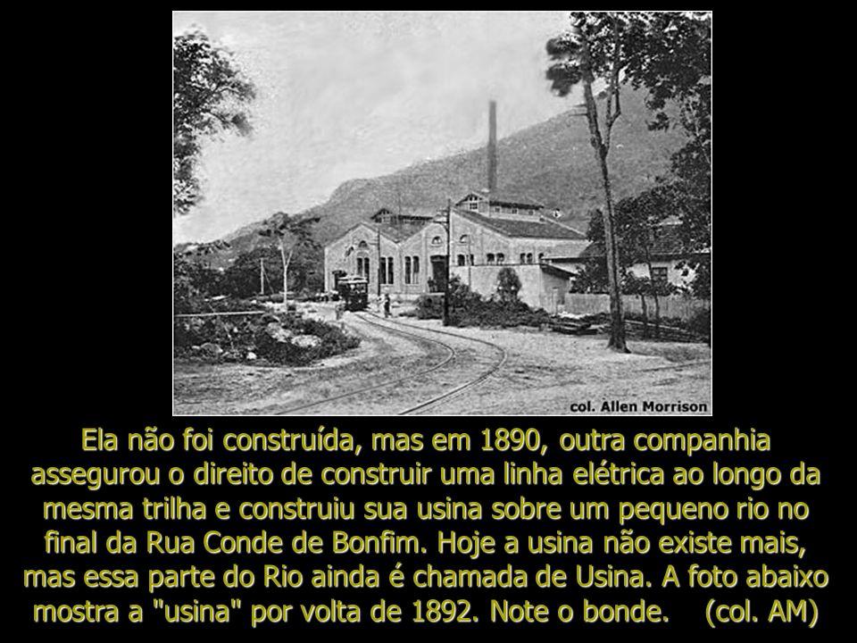 Desde os anos sessenta do século XIX, tentativas foram feitas de subir as montanhas e morros ao redor do Rio de Janeiro, através linhas de bondes, tel
