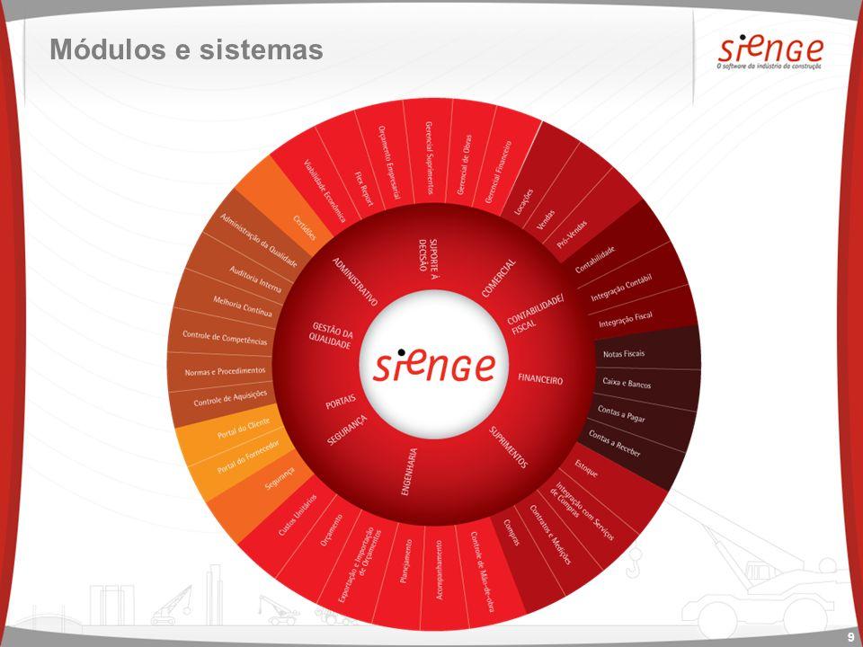 SIENGE Mais informações em www.sienge.com.br ou no (48) 3027 8110.www.sienge.com.br