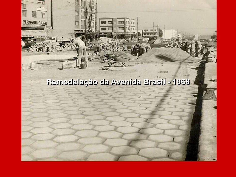 Cascavel - Vista aérea - 1968