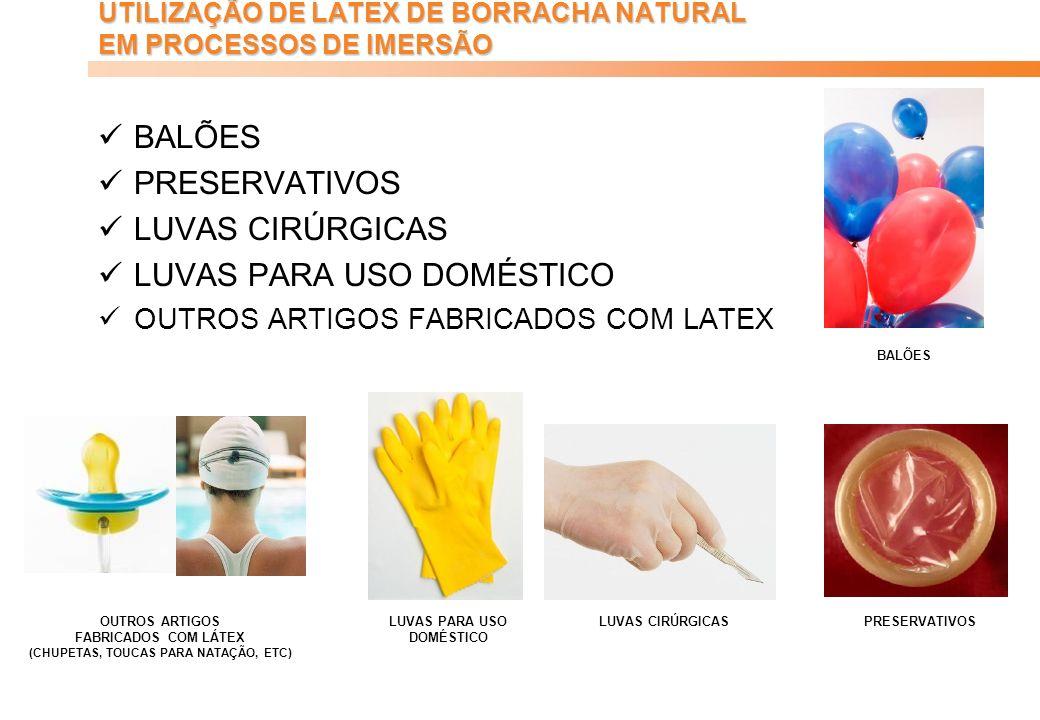 Parabor 40 anos – 1964 a 2004 Empresa certificada ISO-9001:2000HISTÓRICO PRIMEIROS USOS DO LÁTEX DE BORRACHA NATURAL