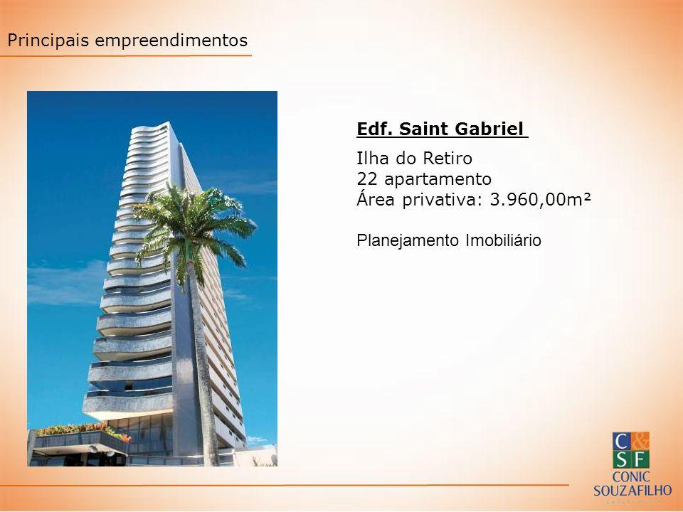 Edf. Saint Gabriel Ilha do Retiro 22 apartamento Área privativa: 3.960,00m² Planejamento Imobiliário Principais empreendimentos
