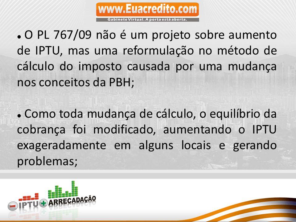 O CONCEITO: Pelo novo conceito da PBH, o atual IPTU pesa menos no orçamento das classes média/alta do que nas classes menos favorecidas.