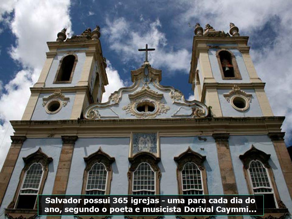 Museu da Cidade, localizado no Pelourinho, com obras representativas dos 450 anos da cidade, apresentando como destaques a cadeira da ialorixá Mãe Men