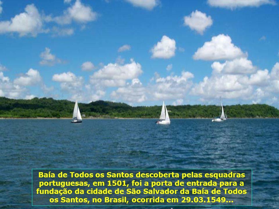 Hoje nosso passeio é pela bela cidade de Salvador, capital do estado da Bahia, um dos principais destinos turísticos do Brasil...