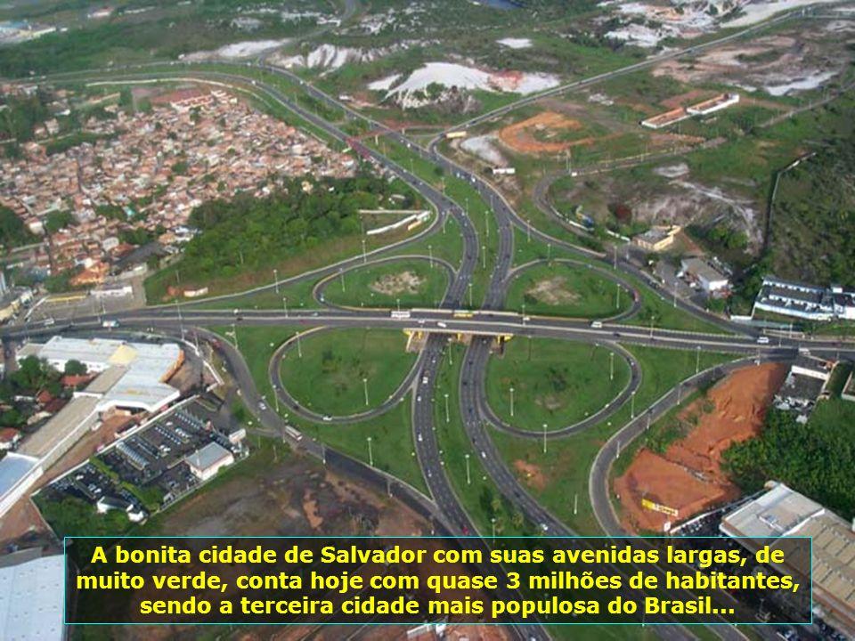 Baía de Todos os Santos descoberta pelas esquadras portuguesas, em 1501, foi a porta de entrada para a fundação da cidade de São Salvador da Baía de T