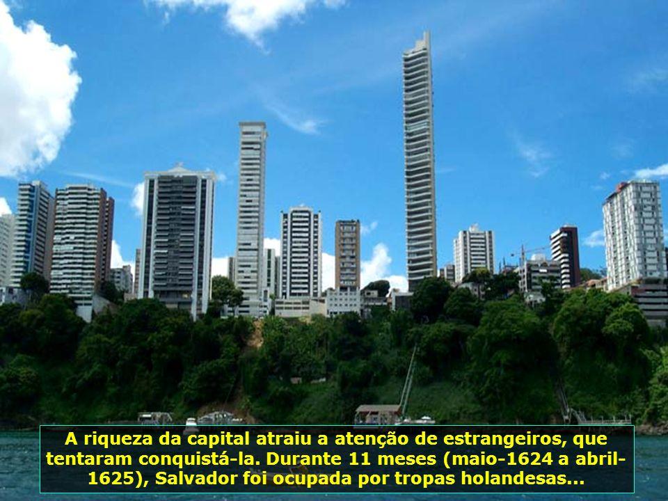 Salvador foi por mais de dois séculos a capital do Brasil e a mais importante cidade de toda América Latina. É a cidade com o maior número de descende