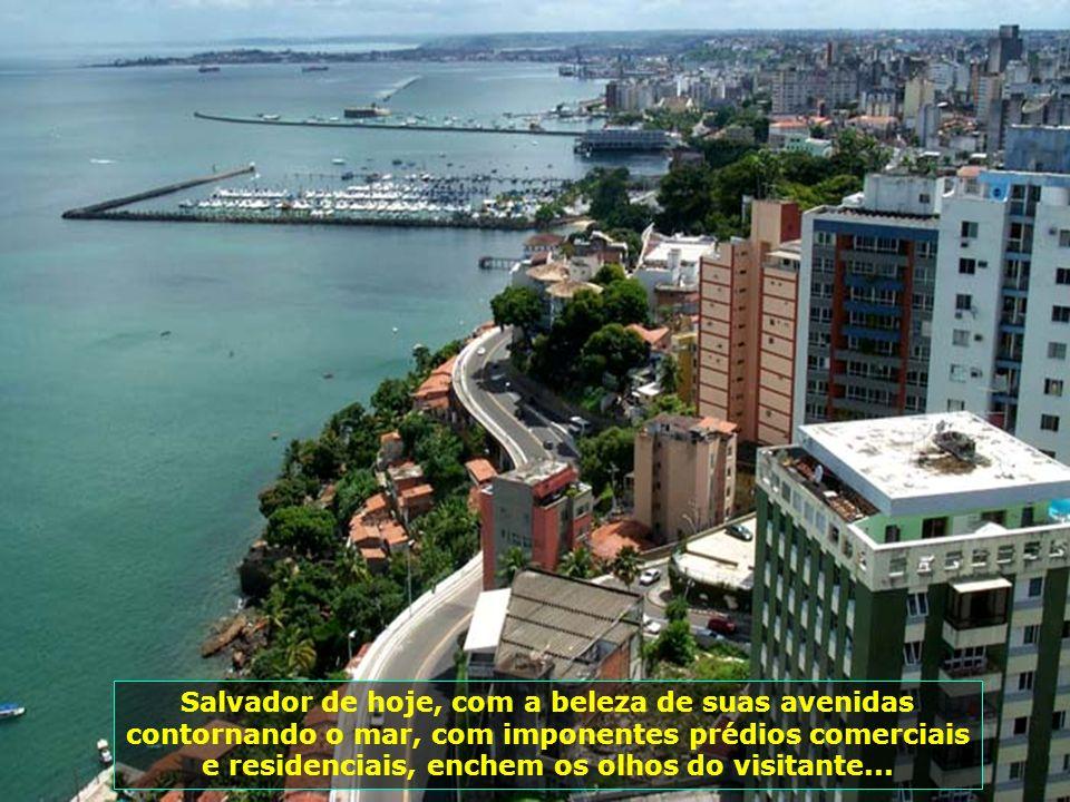 A riqueza da capital atraiu a atenção de estrangeiros, que tentaram conquistá-la. Durante 11 meses (maio-1624 a abril- 1625), Salvador foi ocupada por