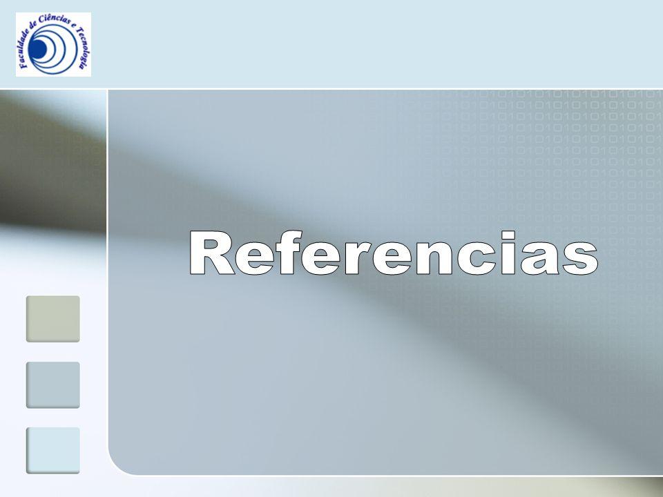 Referencias Referencias   Livros António Miguel, (2006).