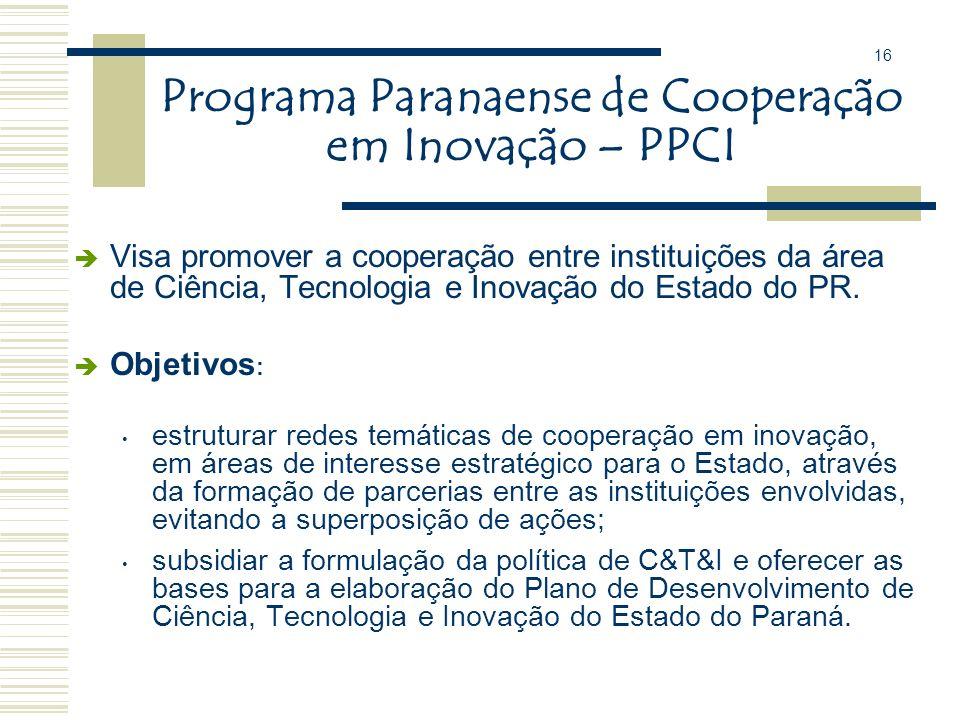 ÁREAS PRIORITÁRIAS n Tecnologias para o Agronegócio; n Tecnologias de Apoio às PMEs; n Tecnologias de Ponta (Tecnologia da Informação e Comunicação, B