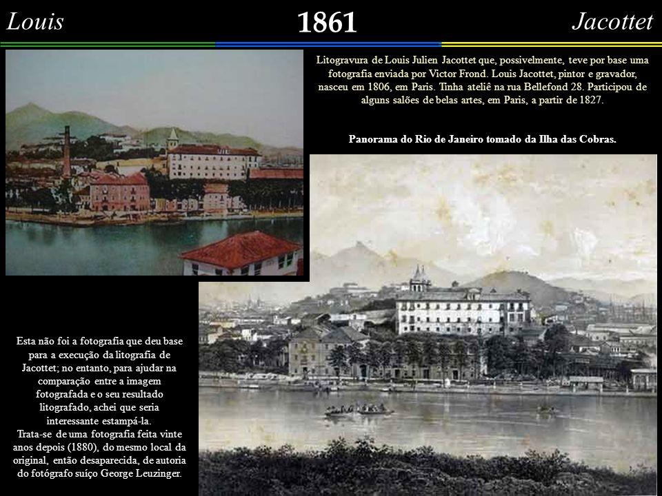 Jules Laurens 1861 Aproveitando a sequência de gravuras tiradas da obra do francês Victor Frond – Brazil pittoresco : álbum de vistas, panoramas, monu