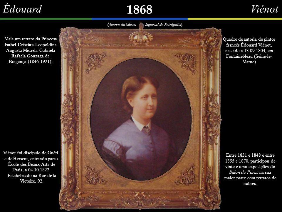 Henri Vinet 1866c Urca – Hospício de D.Pedro II Vista dos fundos do antigo Hospício de D.