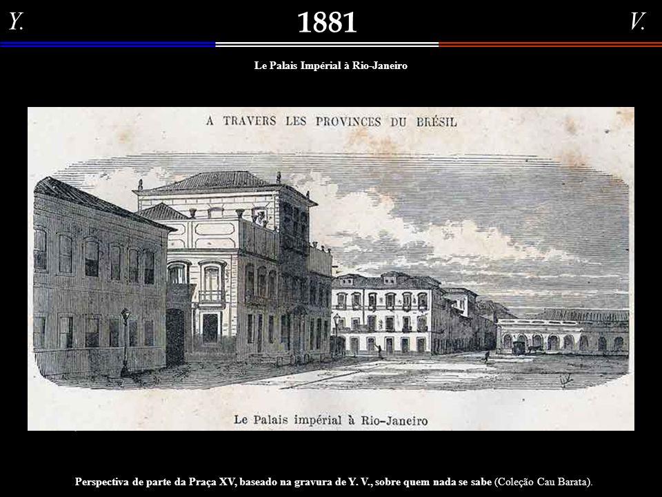 Emile Cagniart 1872 Panoramica do Rio de Janeiro em 1872 Pintura (óleo sobre tela) do artista francês Emile Cagniart, nascido a 23.05.1851, em Paris,