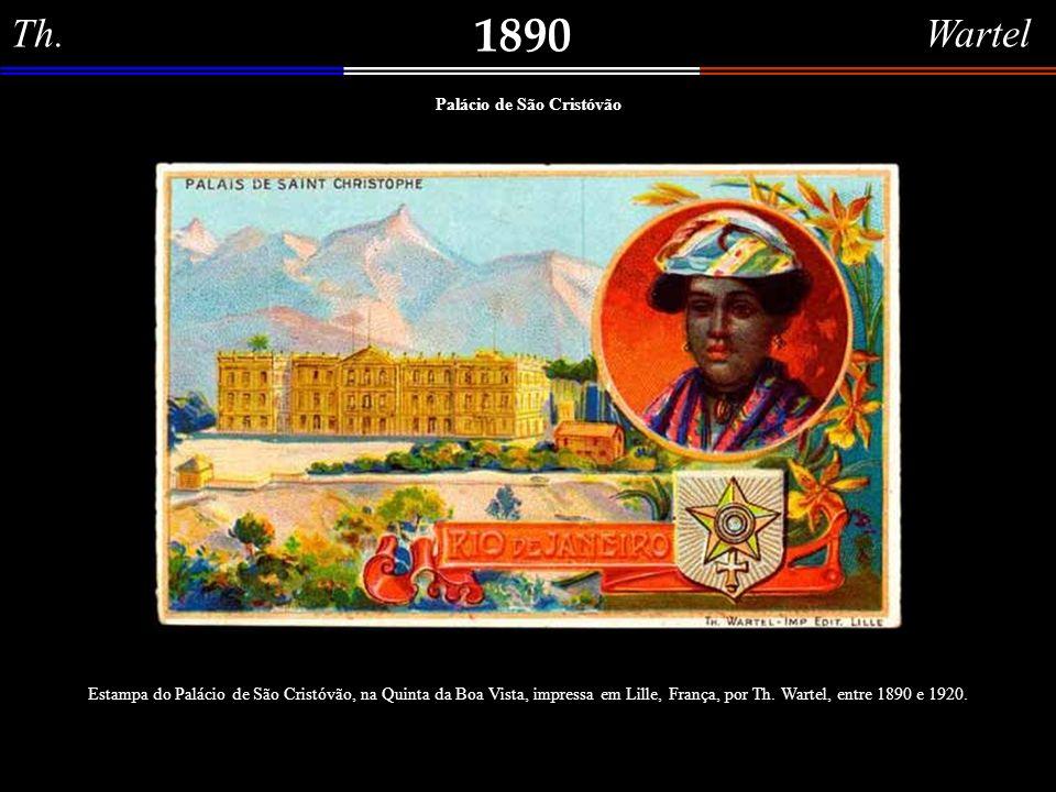 Jules Ballá 1882 Baía do Rio de Janeiro (Praia da Glória) Água forte colorida (acervo da Fundação Raymundo Castro Maia), do artista francês Jules Balá