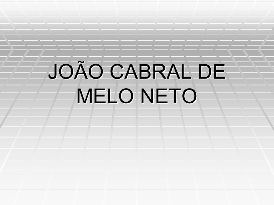 João Cabral de Melo Neto - Melhores Poemas O curso de um rio, seu discurso-rio, chega raramente a se reatar de vez; um rio precisa de muito fio de água para refazer o fio antigo que o fez.