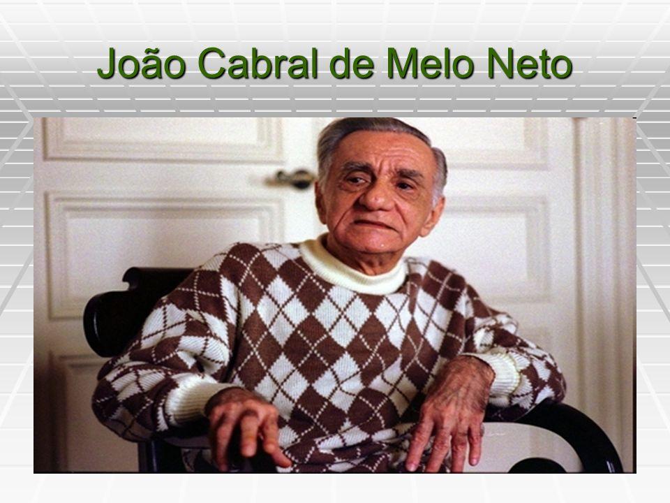 João Cabral de Melo Neto - Melhores Poemas Será de terra e tua melhor camisa: te veste e ninguém cobiça.