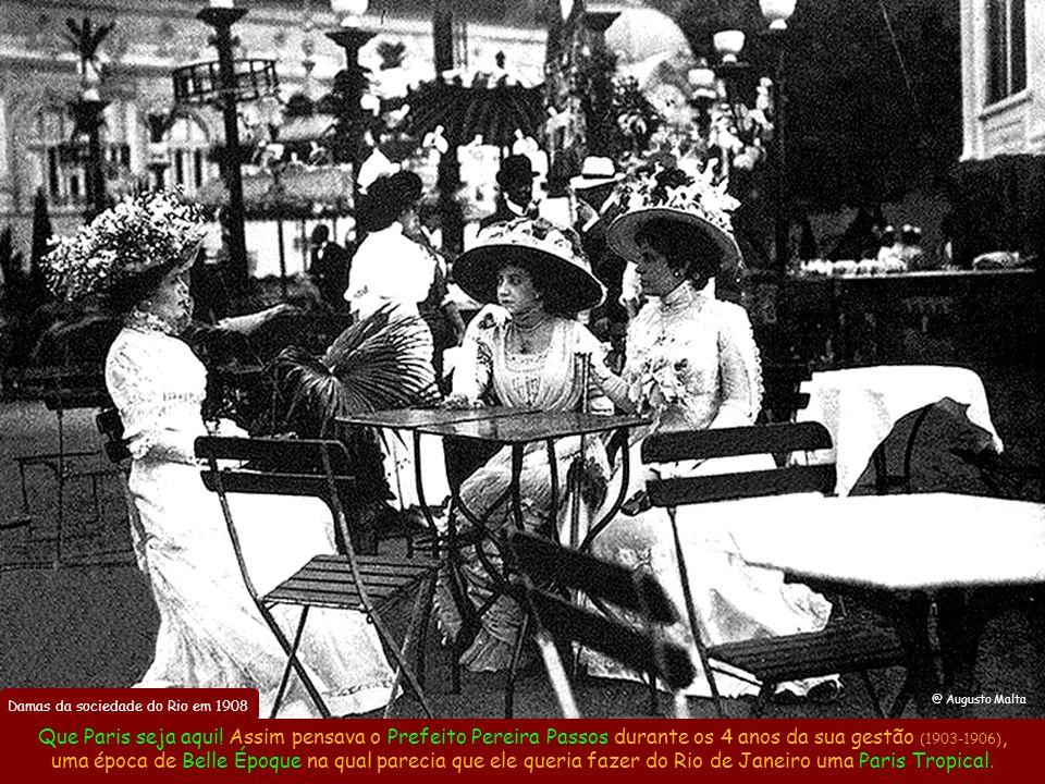 Av.Beira-Mar e Jardim da Glória em 1906 Também em 1903 foi iniciada a Av.