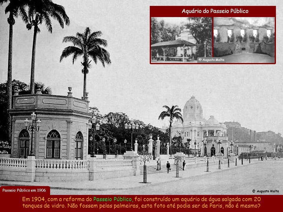 Campo de São Cristovão em 1906 Com Oswaldo Cruz cuidando da Saúde, o prefeito transformou o Rio num enorme canteiro de obras por 4 anos. Em 1906, houv