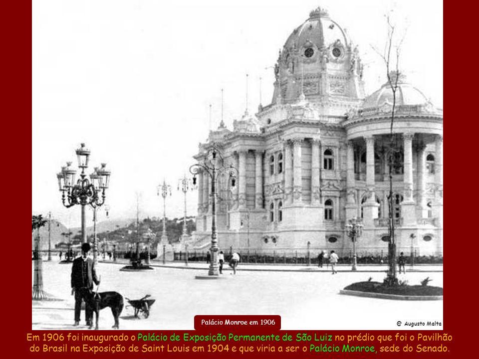 Alargamento da Av. Marechal FlorianoRua do Acre após o alargamento Ampliação da Rua Mem de Sá Liberação do entorno dos Arcos da Lapa Em 1904 foi alarg