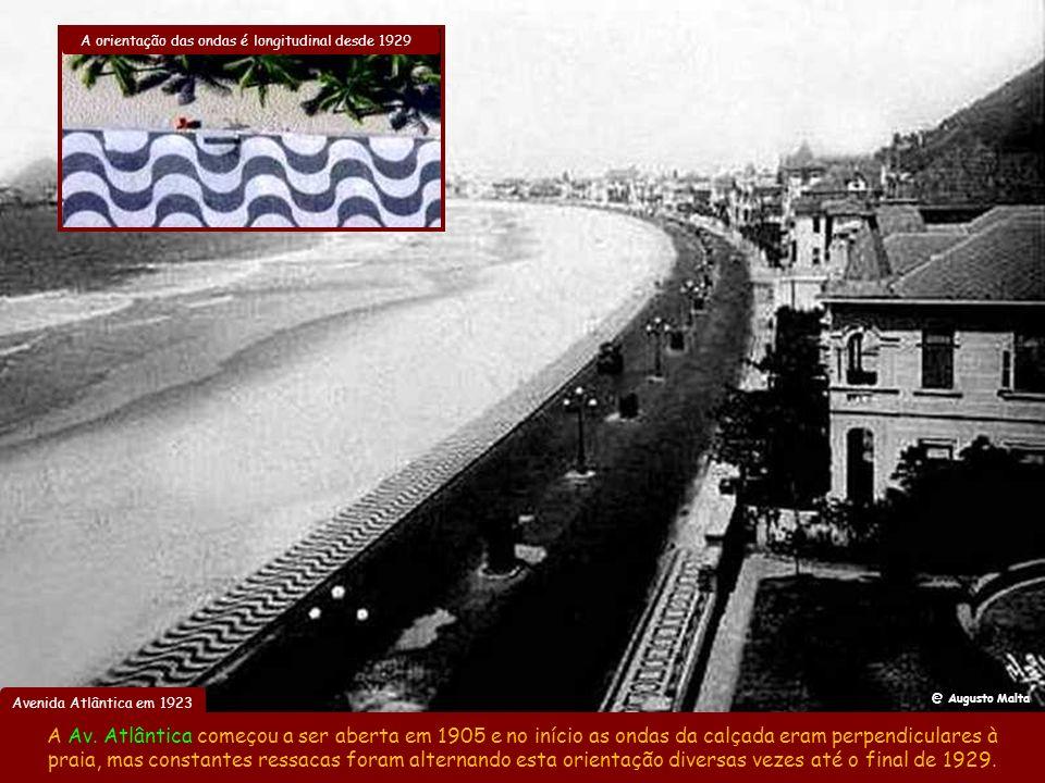 Alargamento da rua 7 de Setembro Abertura da Av. Rodrigues Alves Jardim do Alto da Boa Vista em 1906 Haja folego… Em 1903 foi inaugurado o Jardim do A