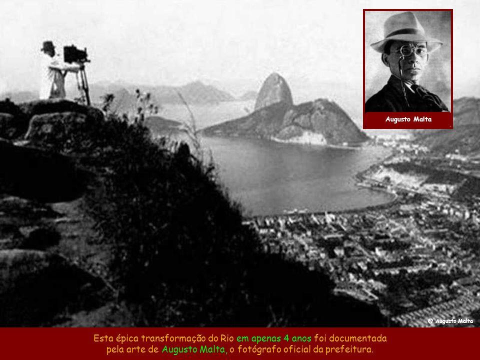 Após todas estas realizações, o mundo pôde ver na Exposição do Centenário da Abertura dos Portos em 1908 que o Rio não era mais a Cidade da Morte e pa