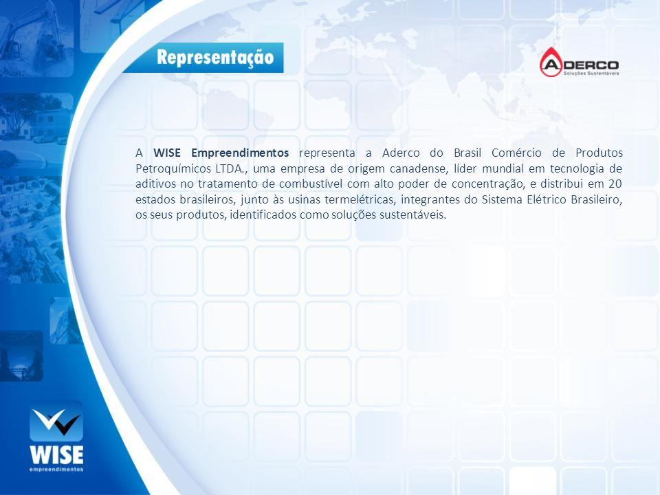 A WISE Empreendimentos representa a Aderco do Brasil Comércio de Produtos Petroquímicos LTDA., uma empresa de origem canadense, líder mundial em tecno