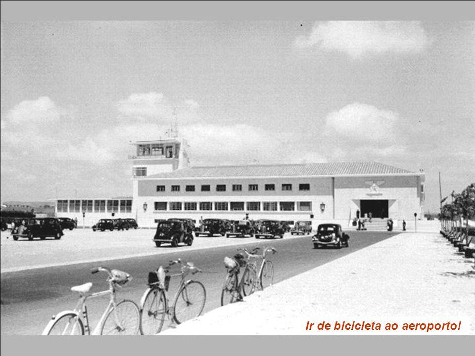 Ir de bicicleta ao aeroporto!