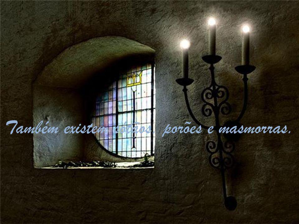Cada canto é antigo conhecido de cada parceiro, pois foi construído tijolo a tijolo por mãos de dedicação.