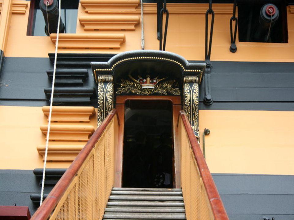 O navio pode ser actualmente visitado no Portsmouth Historic Dockyard.