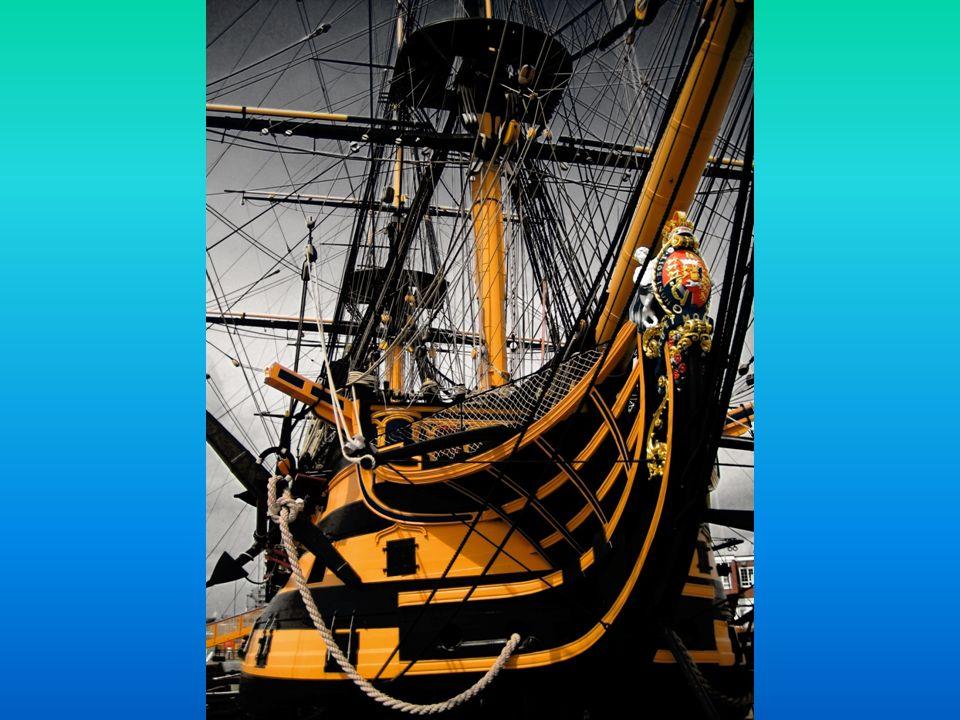 O HMS Victory foi construído entre 1759-1765, nos estaleiros de Chatham, e entrou ao serviço da Royal Navy em 1778. No serviço activo durante os 34 an