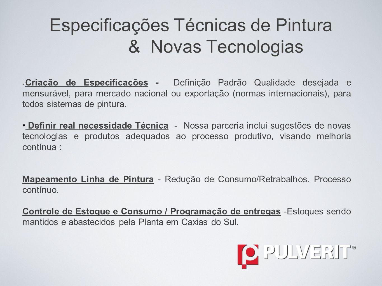Gestão de Serviços e Materiais Desenvolvimentos de Equipes e Treinamentos Um diferencial apresentado ao mercado pela Pulverit é o treinamento de seus