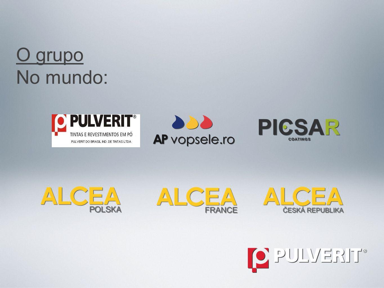 Tintas e revestimentos em pó. O grupo A Pulverit pertence ao grupo Alcea que compõem empresas especializadas na fabricação de produtos de pintura para