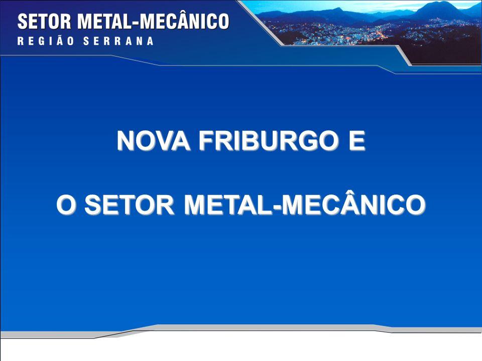 NOVA FRIBURGO E O SETOR METAL-MECÂNICO
