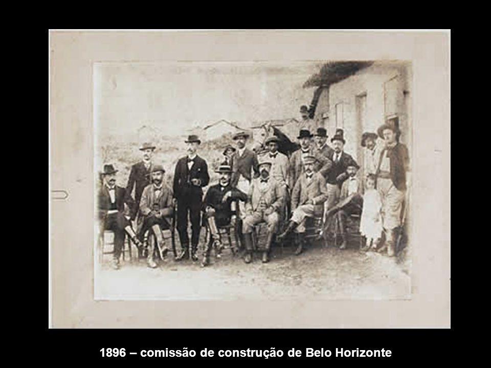 25/06/1916 - Inauguração da Maternidade Hilda Brandão: Presença de Delfim Moreira (Presidente da República, Hugo Werneck, Raul Soares, Bueno Brandão e José Vieira Marques (chefe de Polícia )