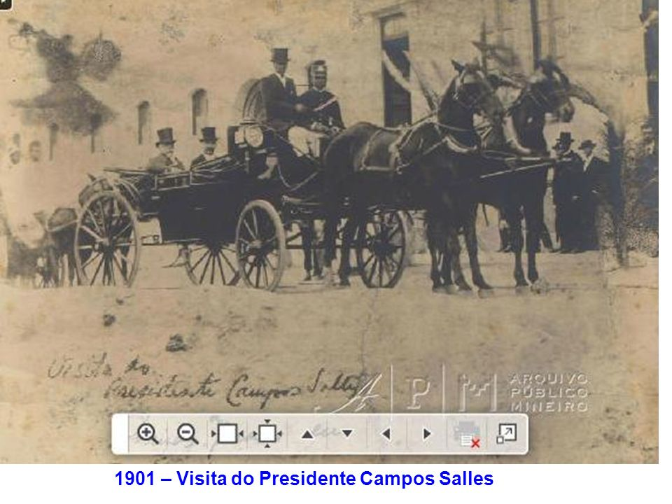 1901 – Visita do Presidente Campos Salles