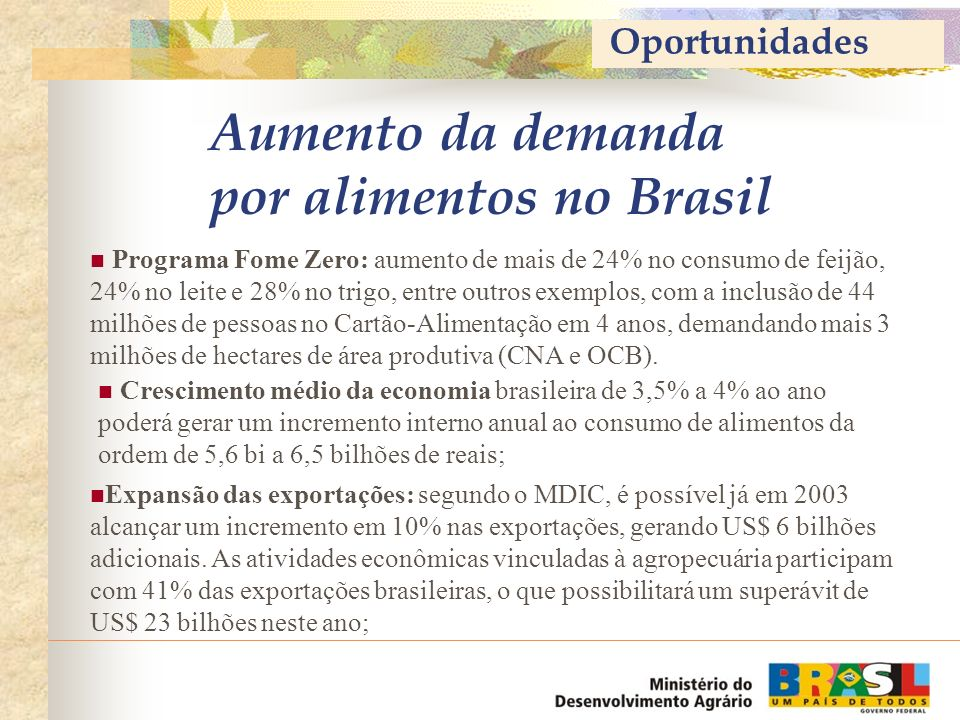Plano de Safra da Agricultura Familiar 2003/2004