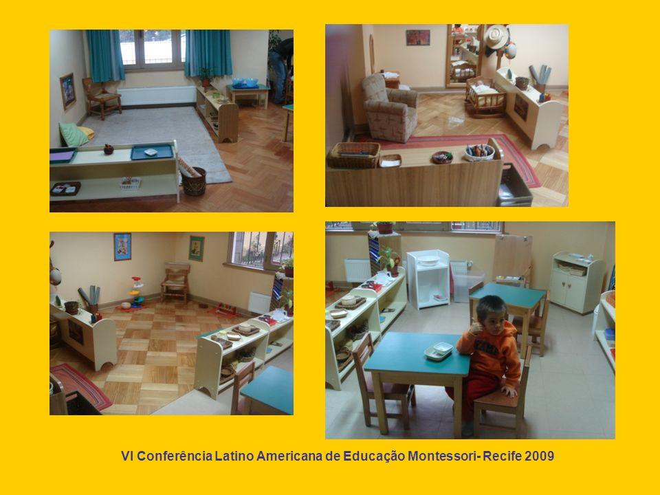 VI Conferência Latino Americana de Educação Montessori- Recife 2009 Um espaço para viver a natureza !