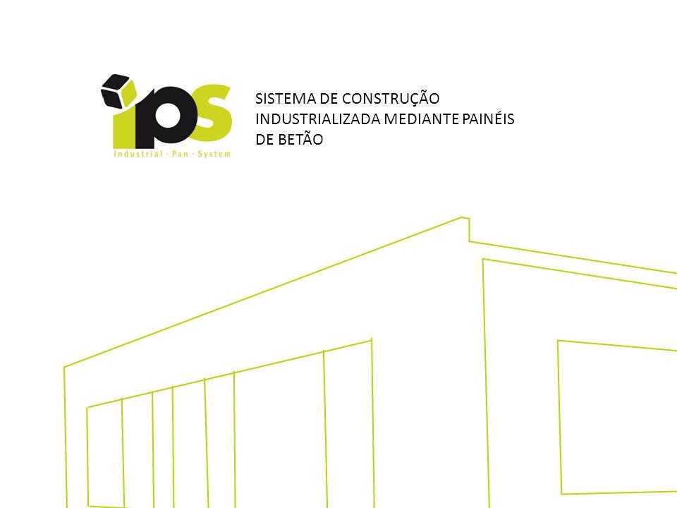 Prazos segurados por métodos e procedimentos eficazes SISTEMA DE CONSTRUÇÃO INDUSTRIALIZADA MEDIANTE PAINÉIS DE BETÃO