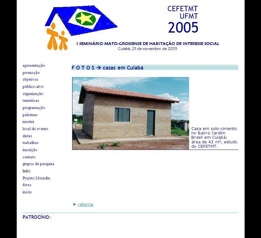 F O T O S casas em Cuiabá retorna apresentação objetivos programação palestras datas inscrição local do evento organização contato grupos de pesquisa